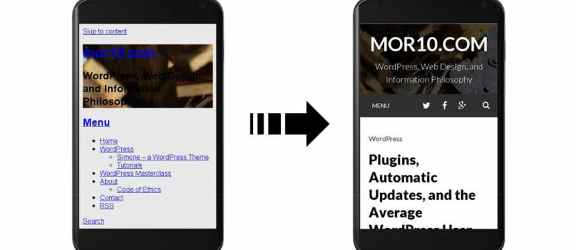 Make sure your WordPress site is mobile-friendly