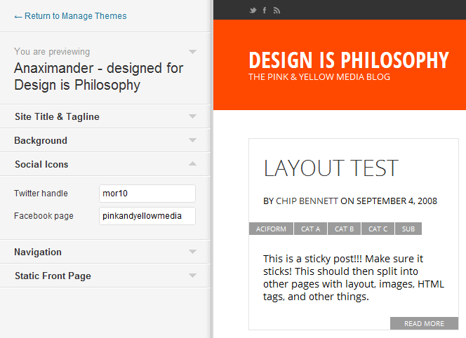 Go to Theme Customizer adds new level of simplicity to WordPress theme customization