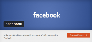 Facebook for WordPress - new plugin