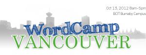 WordCamp Vancouver 2012