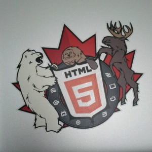 Canadian HTML5 Crest
