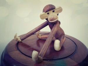 Kaj Bojesen Wooden Monkey