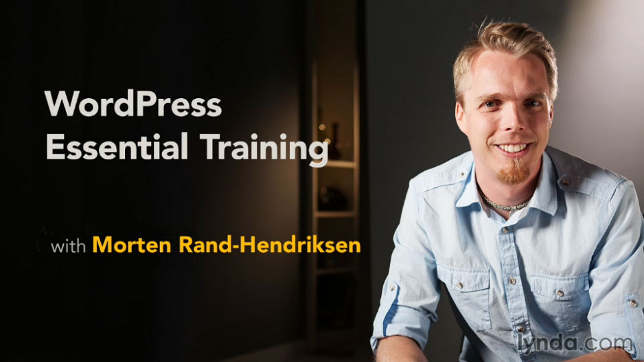 Learn WordPress with WordPress Essential Training with Morten Rand-Hendriksen from lynda.com