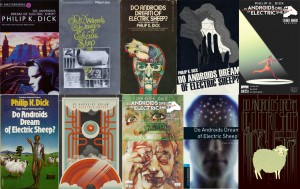 Various covers for Do Androids Dream of Electric Sheep?